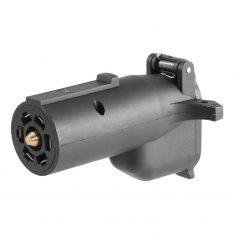 CURT 7-Way Round RV To 6-Way Round Adapter-0