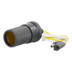 CURT 2-Way Flat To Cigarette Lighter Power Adapter-0