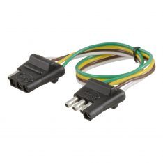 CURT 4-Way Bonded Wiring Connector-0