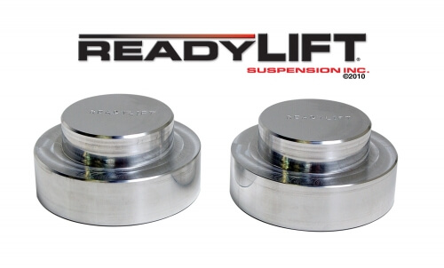 ReadyLIFT Coil Spring Spacer 1 in. Lift Billet Aluminum Construction Pair -0