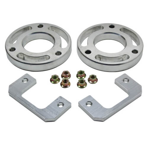 ReadyLIFT 2.25 in. Front Leveling Kit Billet Aluminum Strut Extensions Allows Up To A 33 in. Tire -0