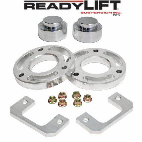 ReadyLIFT SST Lift Kit 2.25 in. Front/1.5 in. Rear Allows Up To A 33 in. Tire udes Front Upper Strut Extensions Front Lower Strut Spacers Rear Coil Spacers -0