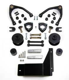 ReadyLIFT SST Lift Kit 4 in. Front/3 in. Rear Lift A-Arms Black Finish -0
