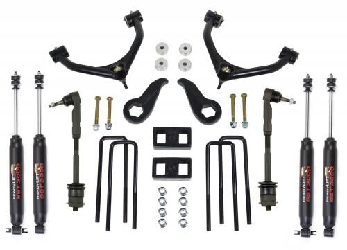 ReadyLIFT SST Lift Kit w/Shocks 4.0 in. Front/1.0 in. Rear Lift SST3000 Shocks Tube A-Arm -0