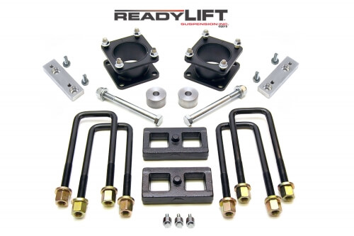 ReadyLIFT SST Lift Kit 3 in. Front/1 in. Rear Lift Differential Drop/Skid Plate Spacers/Sway Bar Drop Brackets TRD/SR5/Rock Warrior -0