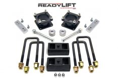 ReadyLIFT SST Lift Kit 3 in. Front/2 in. Rear Lift Differential Drop/Skid Plate Spacer/Sway Bar Drop Bracket TRD/SR5/Rock Warrior -0