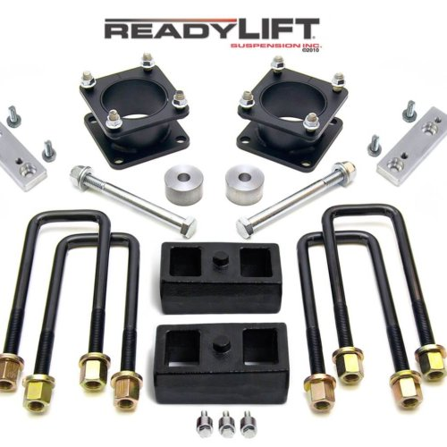 ReadyLIFT SST Lift Kit 3 in. Front/2 in. Rear Lift Differential Drop/Skid Plate Spacer/Sway Bar Drop Bracket TRD/SR5/Rock Warrior -0