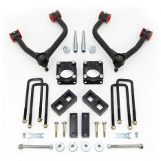 ReadyLIFT SST Lift Kit 4 in. Front/2 in. Rear Lift A-Arms Differential Drop Kit Black Finish -0