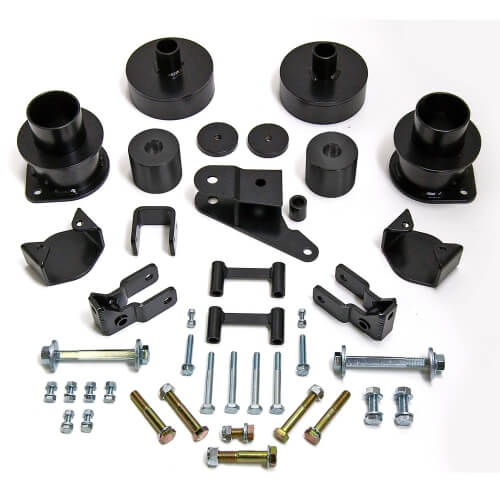 ReadyLIFT SST Lift Kit 3 in. Front/2 in. Rear Lift Front/Rear Spring Spacers Panhard Bar Relo Bracket Shock Ext. Front/Rear Bump Stop Ext. Bracktes -0
