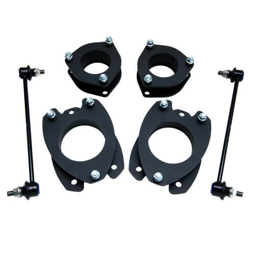 ReadyLIFT SST Lift Kit 2 in. Front/Rear Lift Strut Extensions Front/Rear Top Mount Strut Spacers Sway Bar End Links -0