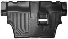 Husky Liner 19051 WeatherBeaters Black Custom Molded Third Seat Floor Liner-0