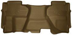 Husky Liners 19193 WeatherBeater Series Tan Second Seat Floor Liner-0