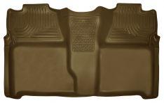 Husky Liners 19203 WeatherBeater Tan 2nd Seat Floor Liner-0