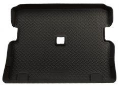 Husky Liners Custom-Fit Rubber Cargo Liner for Select Jeep Wrangler Models (Black)-0