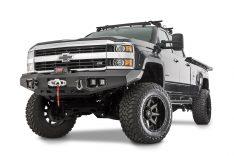 Warn 95870 Front Ascent Front Bumper For Mid frame Winches 12000 lbs. And Under -0