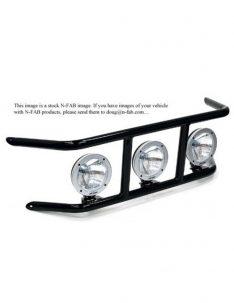 N-Fab Light Bar For LED, Gloss Black-0