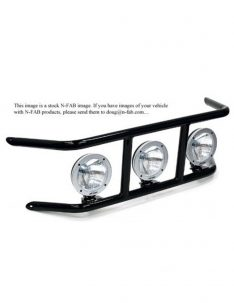 N-Fab Light Bar For LED, Textured Black-0