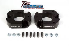 ReadyLIFT T6 Billet Front Leveling Kit 2.5 in. Front Lift Anodized Black Allows Up To A 35in. Tire -0