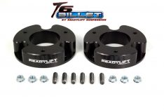 ReadyLIFT T6 Billet Front Leveling Kit 2 in. Lift Black Allows Up To A 33in. Tire -0