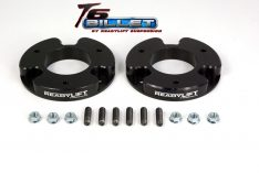 ReadyLIFT T6 Billet Front Leveling Kit 1.5 in. Lift Black Allows Up To A 33in. Tire -0