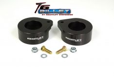 ReadyLIFT T6 Billet Front Leveling Kit 2 in. Lift Anodized Black Allows Up To A 33in. Tire -0