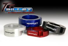 ReadyLIFT T6 Billet Front Leveling Kit 2 in. Front Lift Blue Allows Up To A 35in. Tire -0