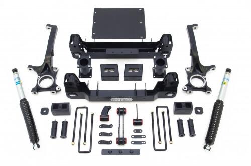 "ReadyLIFT 44-5677 2007-2016 Toyota Tundra 6"" Lift Kit W/ Bilstein Shocks-0"
