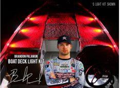 Brandon Palaniuk - Signature Series - Deck Light Kit - 6 Lights - Red-0