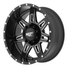 MO975, 17x9 with 8 on 170 Bolt Pattern - Black-0