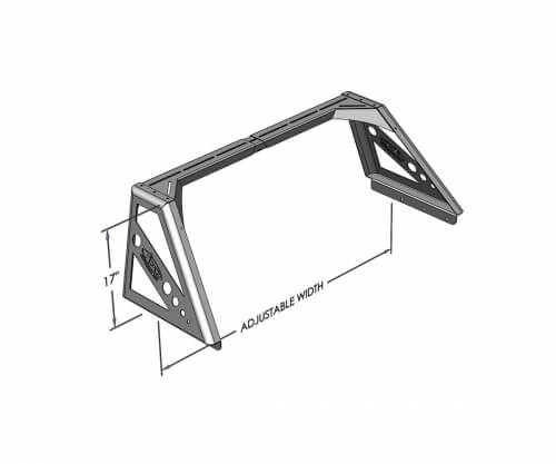 """ADD Universal Chase Rack Flare Bar 17"""" Tall-0"""