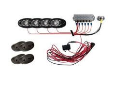 Rigid Industries Rock Light Kit - 4 Lights - Cool White-0