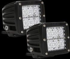 Rigid Industries 50251 D2 60° Lens LED Light, (Set of 2)-0