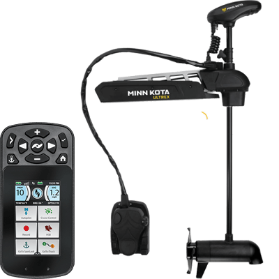 Minn Kota Ultrex and Humminbird SOLIX Ultimate Combo-84539