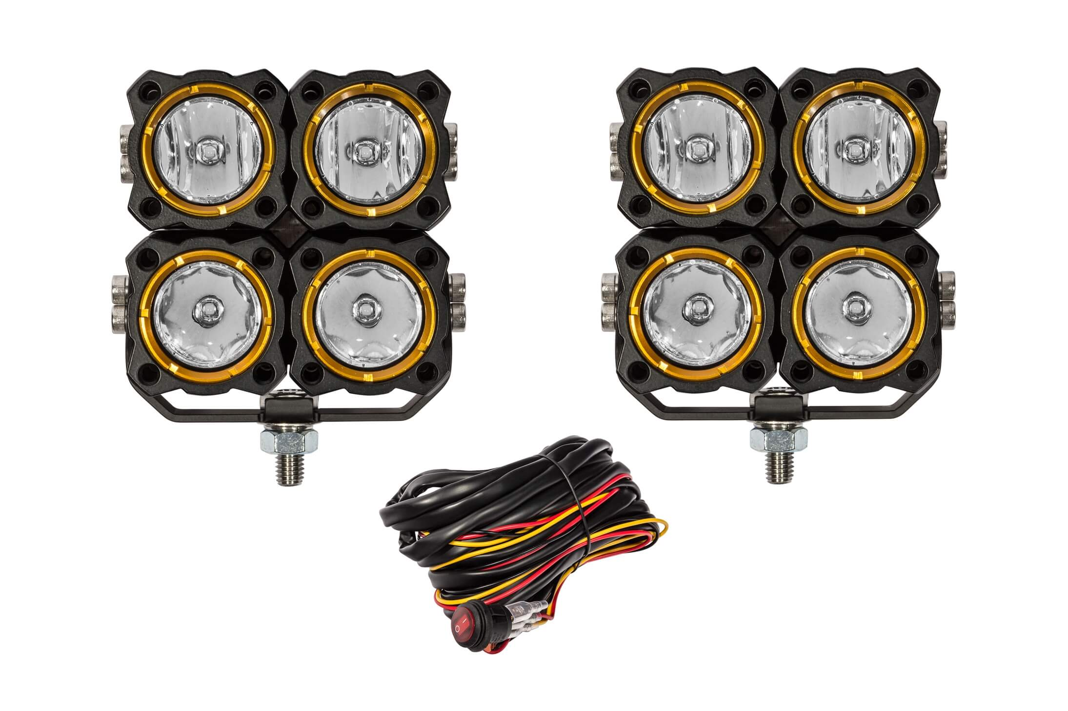 KC FLEX QUAD LED COMBO BEAM SYSTEM (PR)