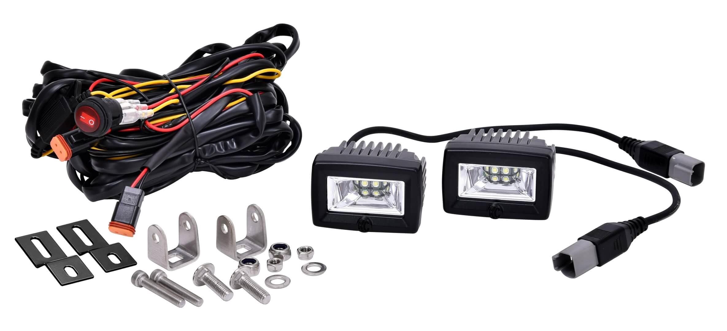 kc 2 u0026quot  c-series c2 led area flood light system -  328