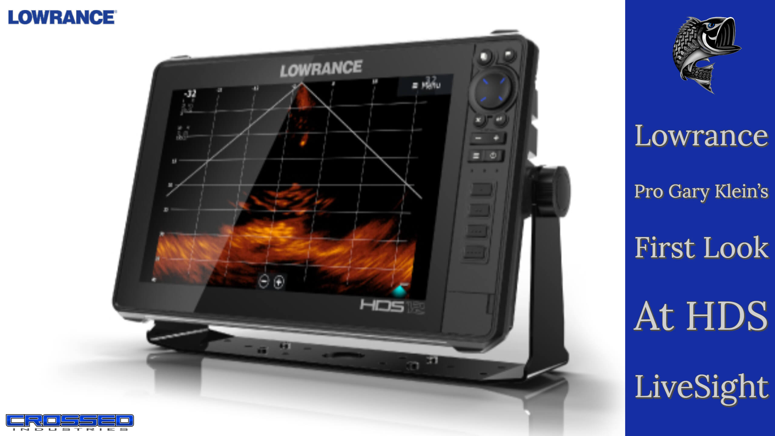 First Look At The Lowrance LiveSight With Gary Klein - LIVESIGHT First Look