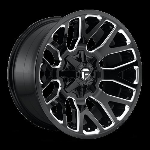 Fuel Truck Wheels >> Fuel Offroad Warrior Nbl Gloss Blk Mil