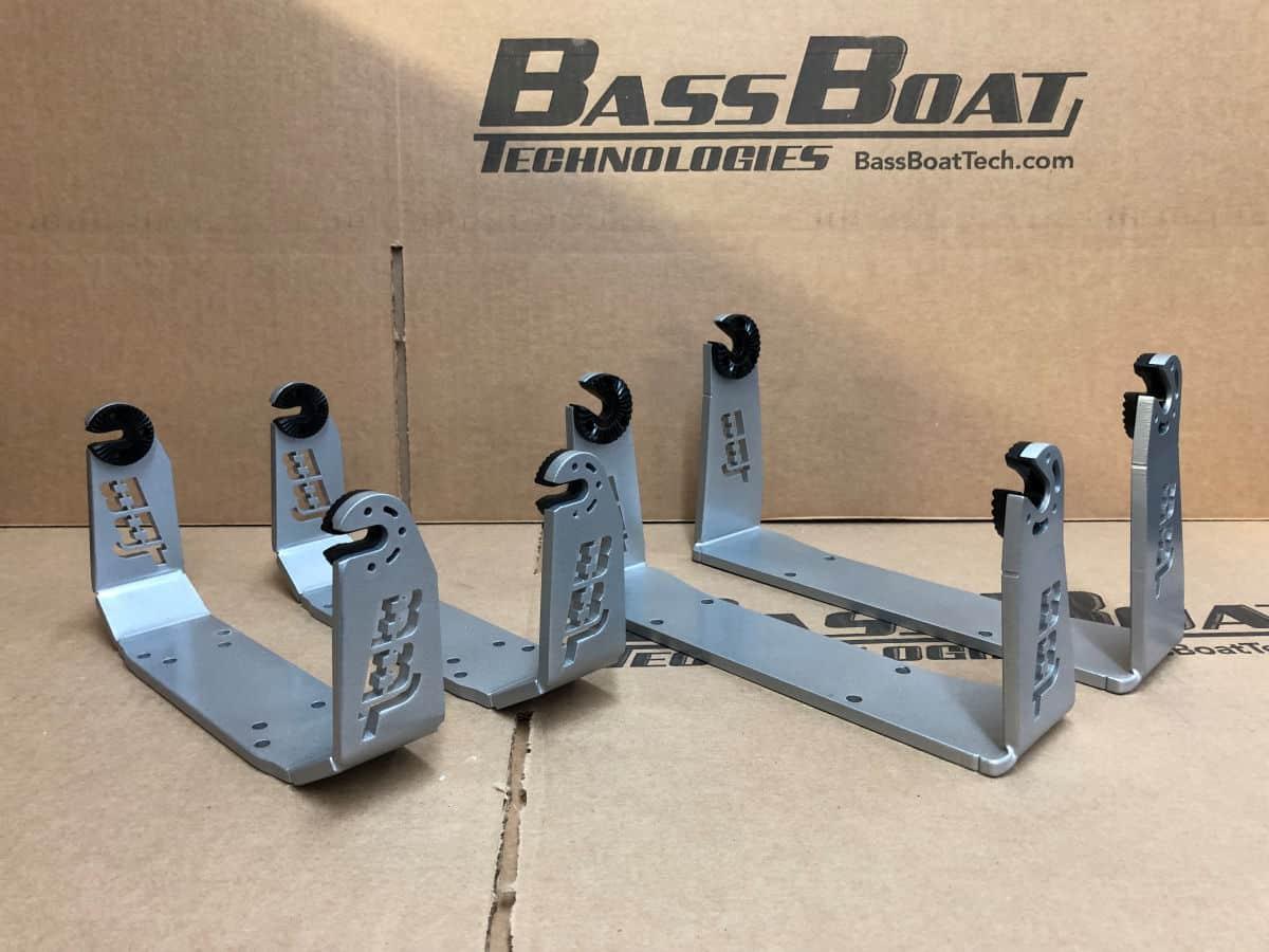 Bass Boat Technologies Heavy Duty Apache Series Gimbal Brackets (Lowrance Gen2/3/Carbon/TI2) - BBT Cheyenne