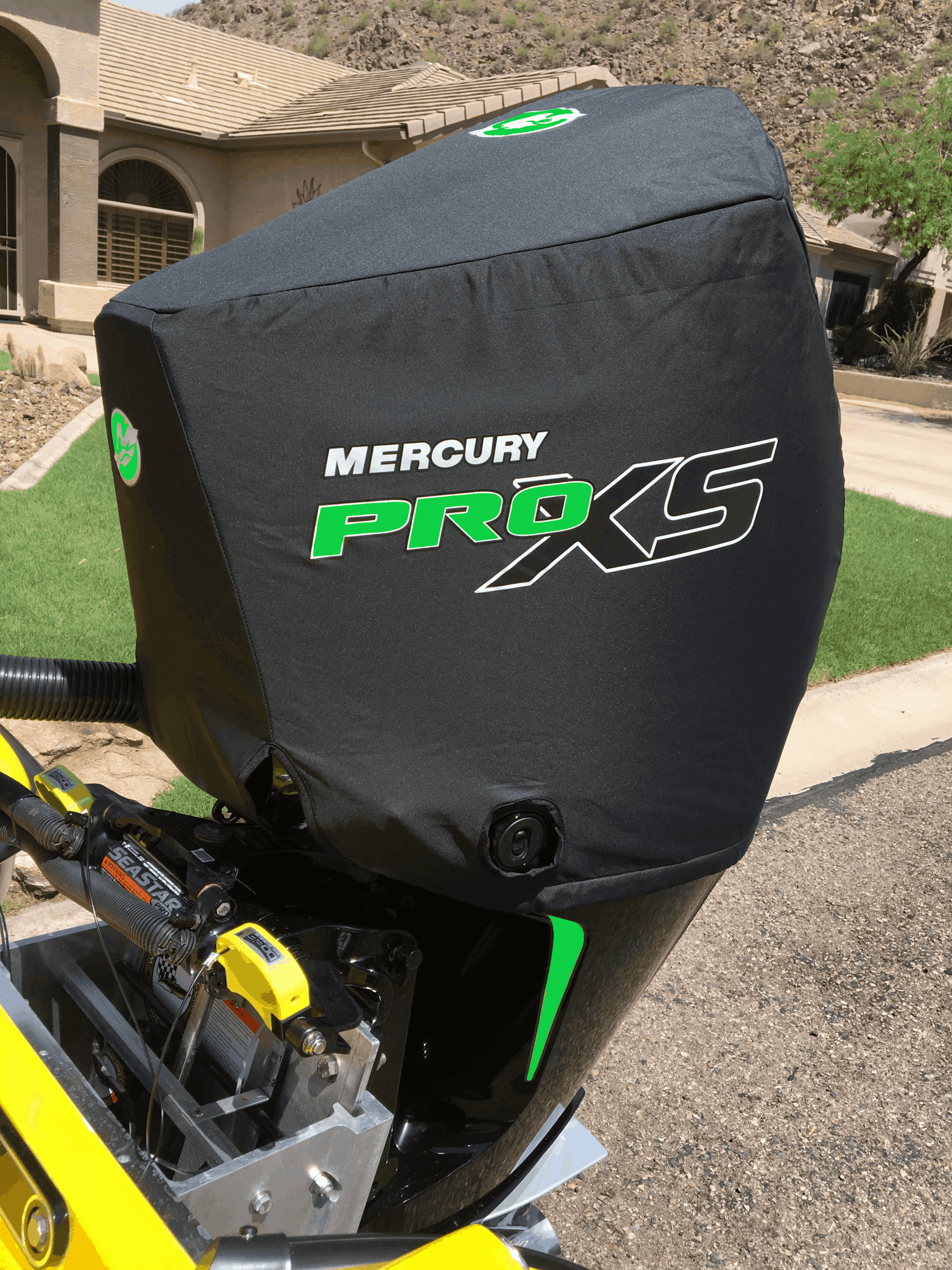 Cover Green Merc 4 Stroke