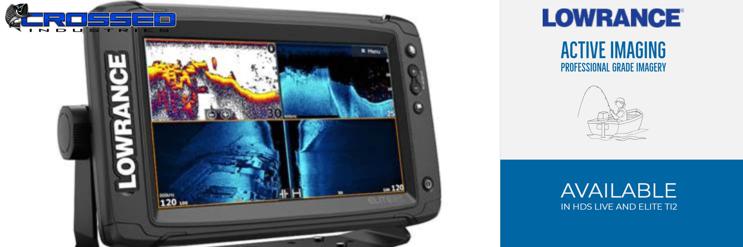 Lowrance Active Imaging Basics - Active Imaging Banner