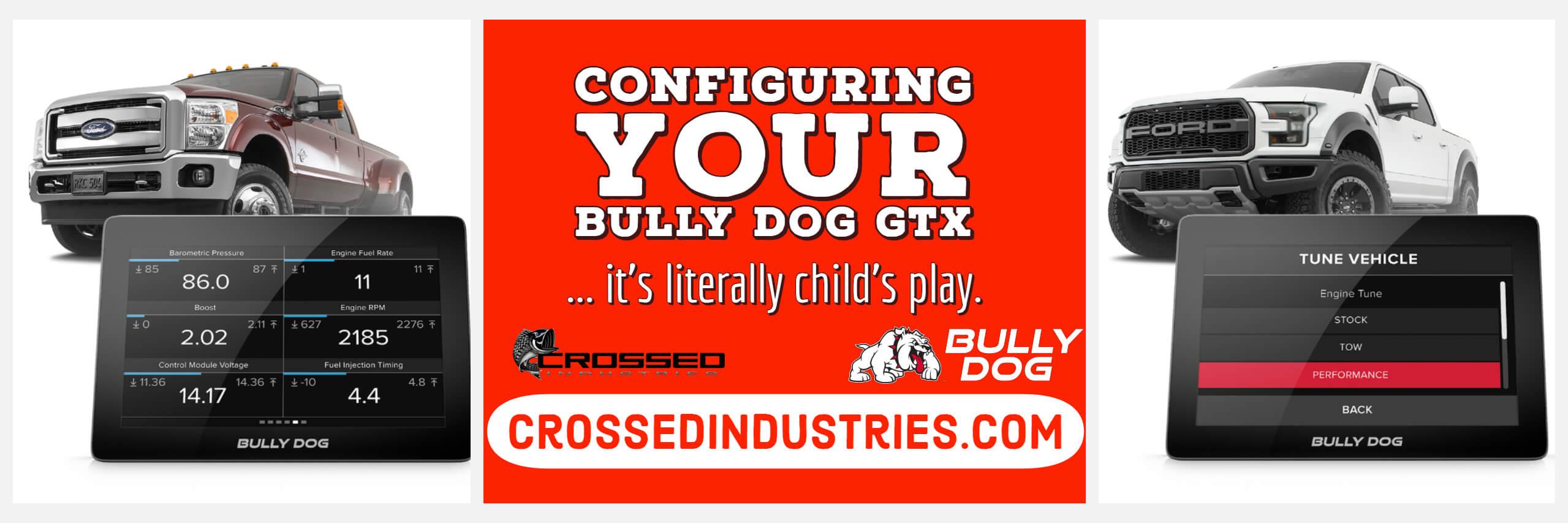 Configuring Your Bully Dog GTX - Bully Dog Banner